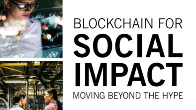 BlockChain per social impact